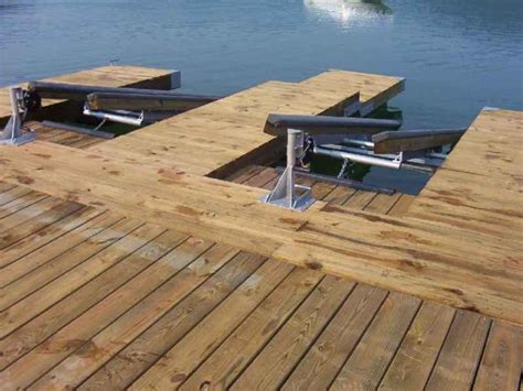 Boat Swim Platform Bumpers by Diy Pwc Dock Kit Floating Boat Dock With Swim
