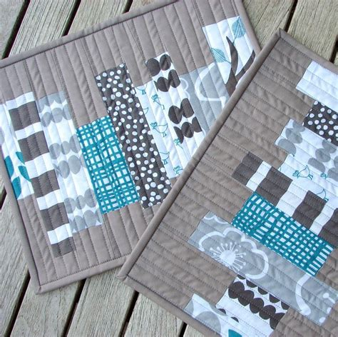 quilted placemats patterns modern quilted placemats search placemats