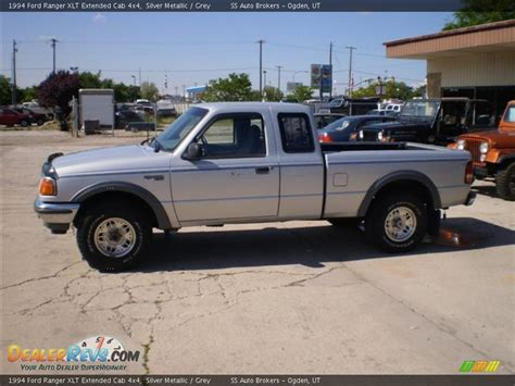 1994 ford ranger xlt extended cab 4x4 silver metallic grey photo 1 dealerrevs