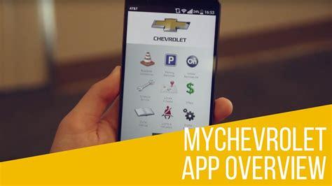 Mychevrolet App Overview Youtube