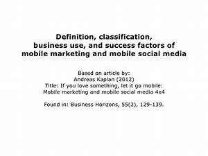 Definition Classification Business Use And Success