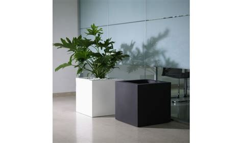 pot de fleur carr kube pot de fleur intrieur ou extrieur design minimaliste
