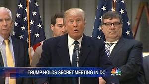 Donald Trump Huddles with Group of GOP Allies in D.C ...