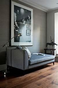 Tapeten Für Wohnzimmer Ideen : tapete in grau stilvolle vorschl ge f r wandgestaltung ~ Sanjose-hotels-ca.com Haus und Dekorationen