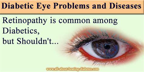 diabetic eye problems  diseases