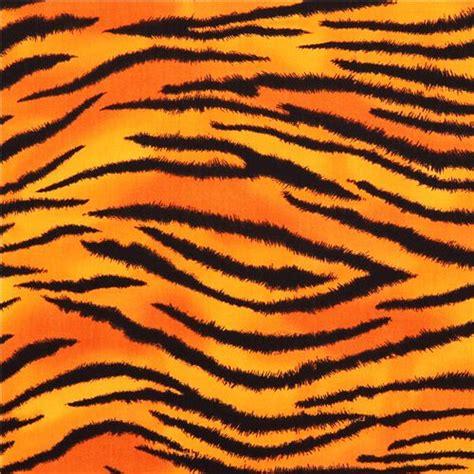 Orange Animal Print Wallpaper - orange tiger fur print timeless treasures usa animal