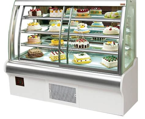 fob price refrigerated bakery showcase display bread