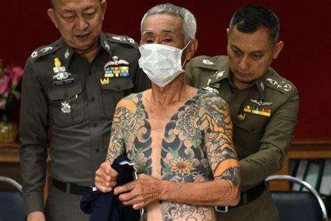 bos yakuza jepang tertangkap  thailand berkat foto