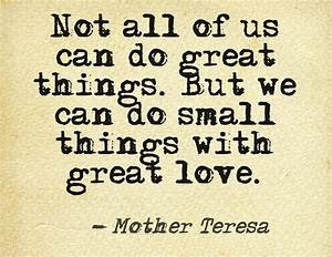 Small Things Mo... Small Mother Quotes