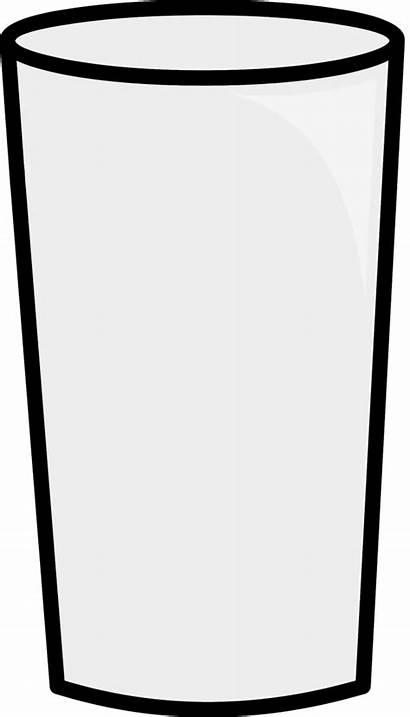 Cup Empty Glass Clipart Blank Oj Object