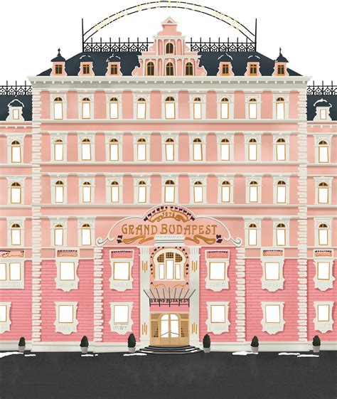 wes anderson collection  grand budapest hotel