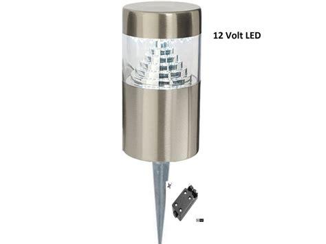stainless steel outdoor garden lights spike 12 v volt 30