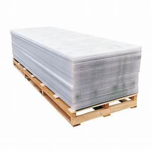 Plaque Polycarbonate Alvéolaire 4mm : plaque polycarbonate alv olaire 16mm b ti e leclerc ~ Dailycaller-alerts.com Idées de Décoration