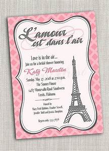 french themed eiffel tower paris party invitation card With example of wedding invitation in french