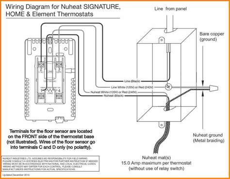 ditra heat thermostat wiring diagram wiring diagram sle