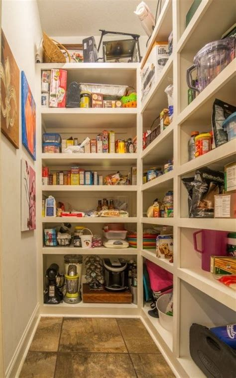 walk in kitchen pantry design ideas traditional pantry with built in bookshelf tile 9585