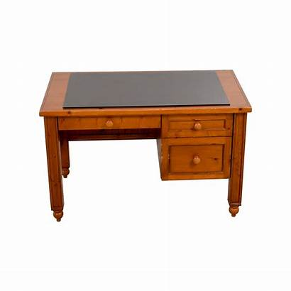 Desk Wood Solid Barn Pottery Office Desks