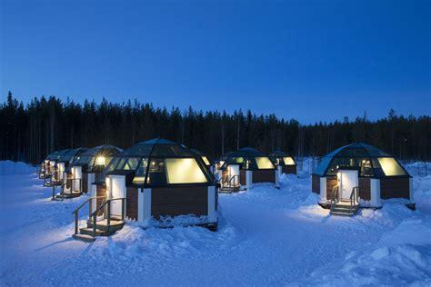 location chambre hotel désert blanc et aventure en laponie finlandaise
