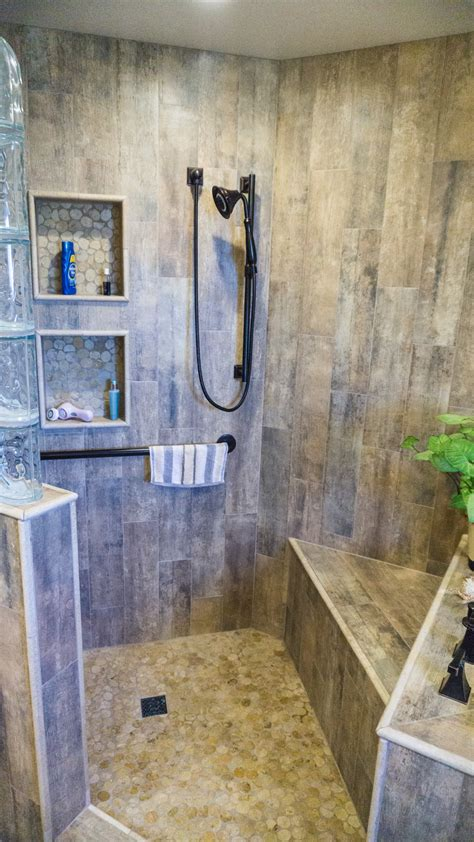 earthy wood glass master bath danilo nesovic designer