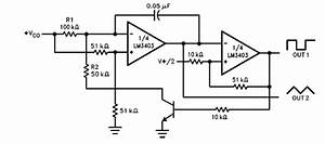 gt circuits gt biquad filter circuit diagram using lm3403 With high precision voltage controlled oscillator vco
