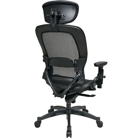 back and seat ergonomic office chair with headrest 27876