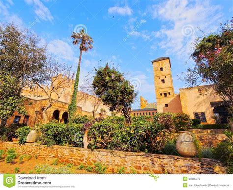 gardens andalusian rabat morocco medina inside kasbah udayas africa royalty hassan king