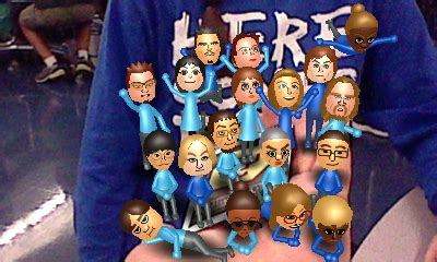Enter & enjoy it now! Blue Wii Party CPU miis in front of a shirt by robbieraeful on DeviantArt