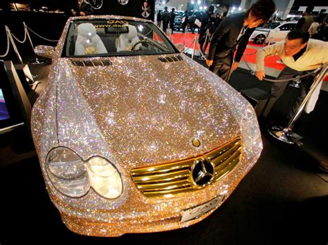The .8 Million Diamond Covered Mercedes-benz