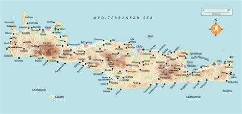 beaches  crete