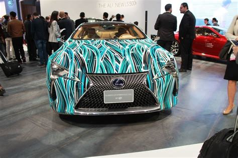 2018 Lexus Lc 500h Revealed At The Dubai Motor Show