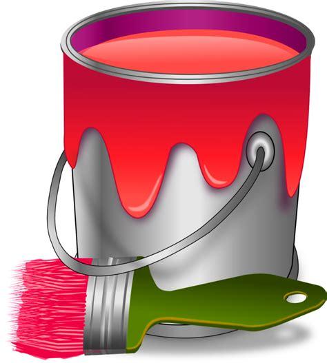dessin pot de peinture pinceau le passe temps de page 2406