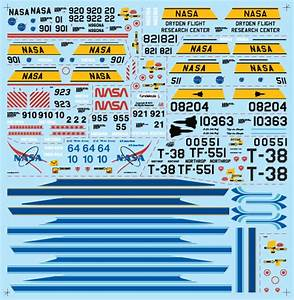 NASA Chase Plane Decals On (page 3) - Pics about space