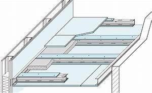 Knauf Abgehängte Decke : freitragende knauf decke jetzt in f 90 von oben und unten sanierung alter decken ~ Orissabook.com Haus und Dekorationen