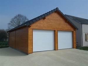 Garage Bois En Kit : espace bois france auvents charpentes maisons ossature ~ Premium-room.com Idées de Décoration