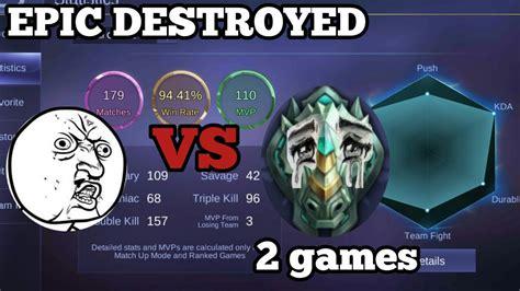 Smurf Vs Epic = Epic Destroyed
