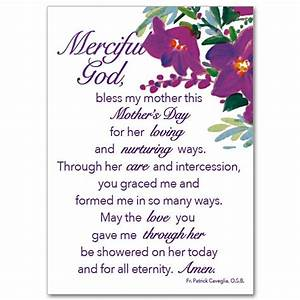 Mother's Day Prayer: Mother's Day Card