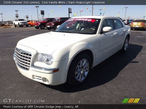 2008 Chrysler 300 Limited by Cool Vanilla White 2008 Chrysler 300 Limited