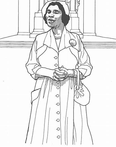 Coloring Walker Madam Cj African Pages History