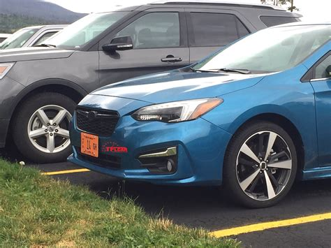 2017 subaru impreza hatchback spied in the wild 2017 subaru impreza hatchback the