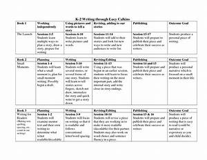 lucy calkins lesson plan template writing through lucy With writers workshop lesson plan template