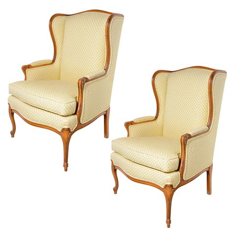 pair of wingback chairs on antique row west palm