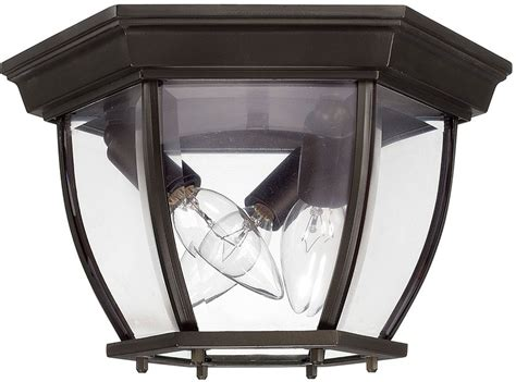 capital lighting 9802ob bronze outdoor flush mount