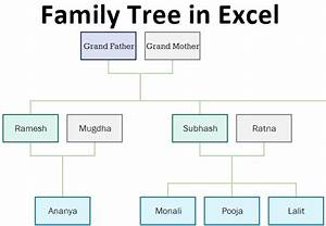 How To Create A Pedigree Chart In Excel