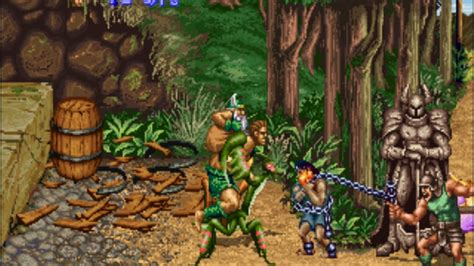 Golden Axe 2 Arcade Game For Emulator Mame Rom By