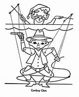 Coloring Puppet Kolorowanki Marionetki Ages Stage Dzieci Dla Recognition Develop Creativity Skills Focus Motor sketch template