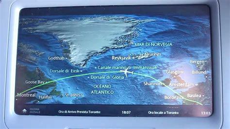 air transat inflight inflight moving map aboard air transat a330