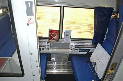 Viewliner Bedroom by 0767 Roomette On Amtrak Viewliner Sleeping Car By Day On