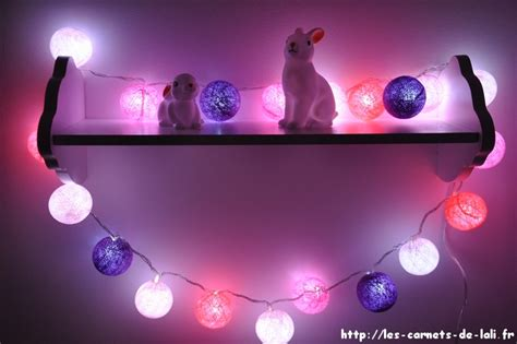 chambre a air guirlande lumineuse de décoration