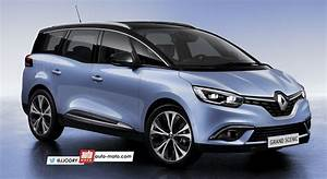 Scoop  U2013 Nouveau Renault Grand Scenic 4  7 Places   2017