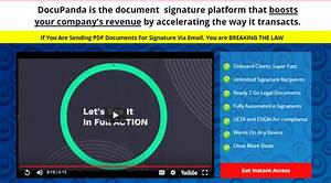 Docupanda document signature software by satish gaire for Best document signing software